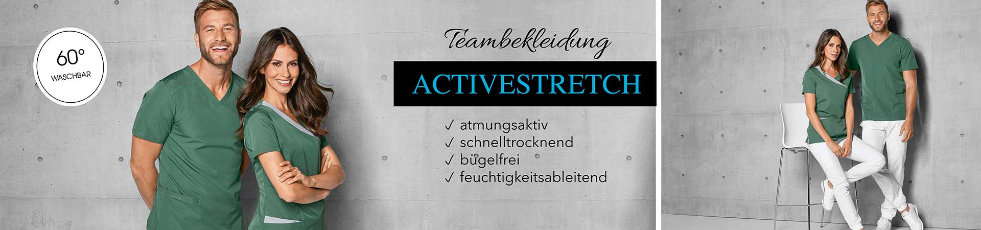 Teambekleidung - Active-Stretch
