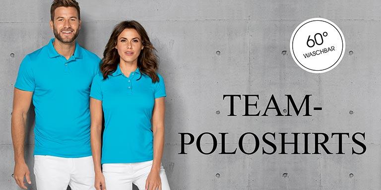 Teambekleidung - Poloshirts 60° waschbar