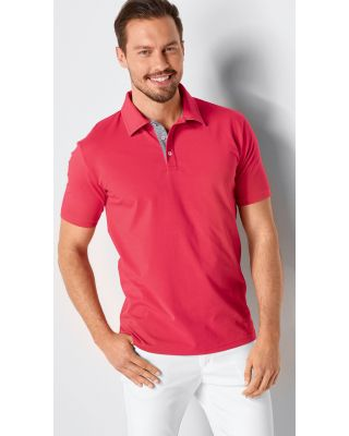 Poloshirt aus Single Jersey